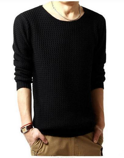 Men's Knit Sweater - TrendSettingFashions   - 3