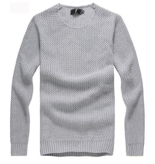 Men's Knit Sweater - TrendSettingFashions   - 4