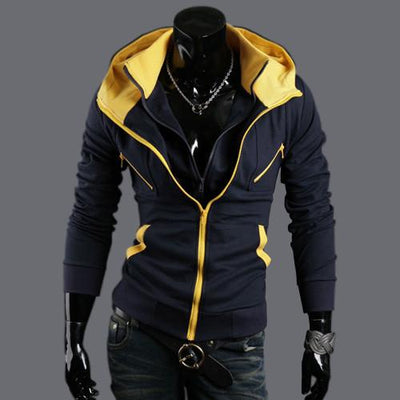 Men's Full Zip Hoodie - TrendSettingFashions   - 1