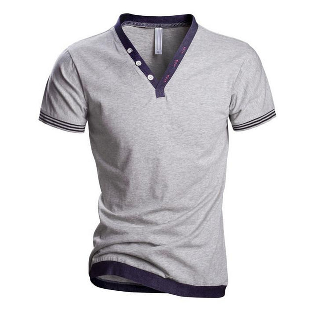 Men's V-Neck Sport T-Shirt - TrendSettingFashions