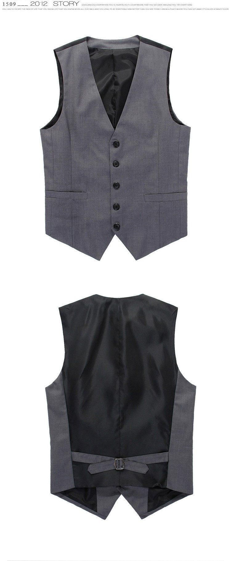 Men's Vest and Pants - TrendSettingFashions   - 1