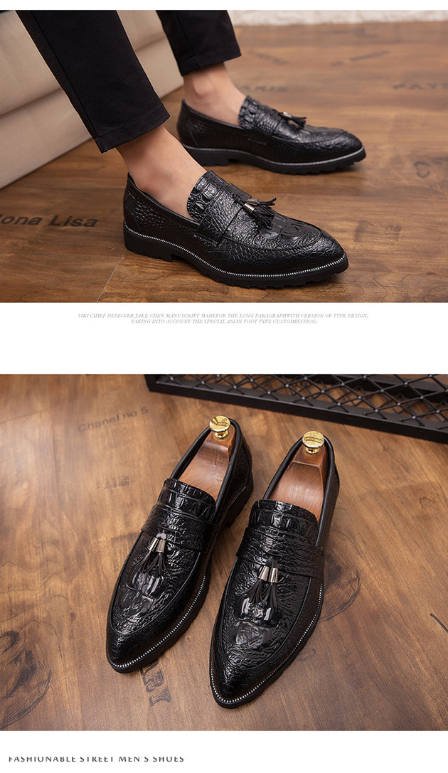 Men's Crocodile Brogue Style Loafers