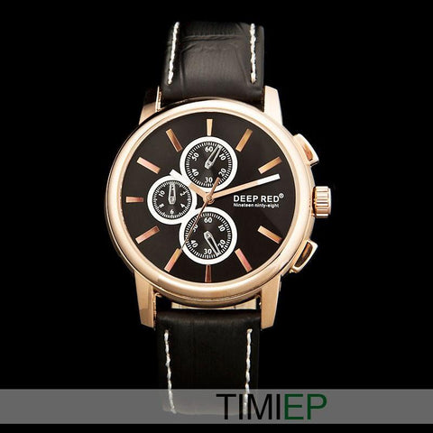 Men's 3 Dial Watch