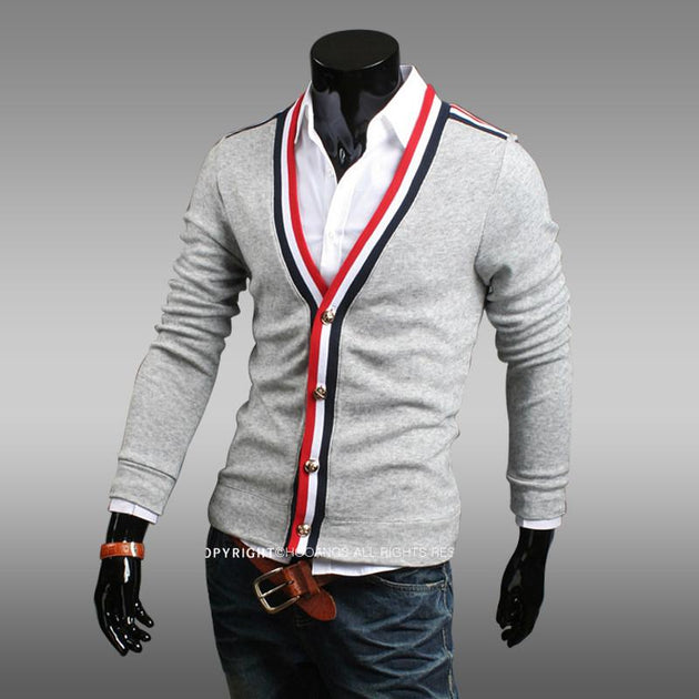 Men's Knit Sweater - TrendSettingFashions