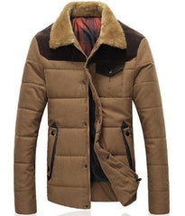 Men's Winter Down Jacket - TrendSettingFashions   - 3