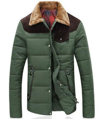 Men's Winter Down Jacket - TrendSettingFashions   - 4