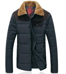 Men's Winter Down Jacket - TrendSettingFashions   - 1