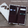 Barrel Racer Cowboy Wallet