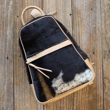 Cowhide Backpack