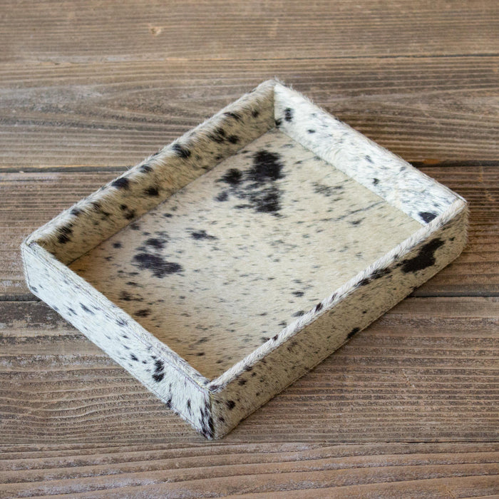 Cowhide Tray