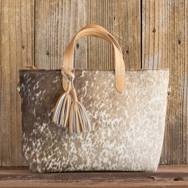 Cowhide Crossbody Purse