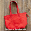 Red Mosaic Tote No. 1