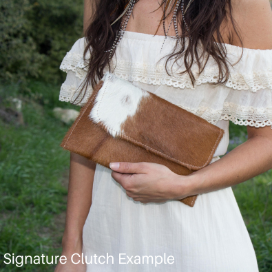 St. Mary's Signature Clutch