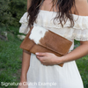 Independence Signature Clutch
