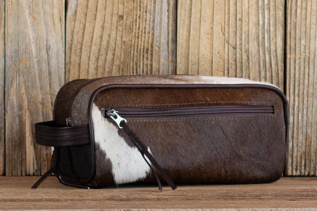 Cowhide Toiletry Bag