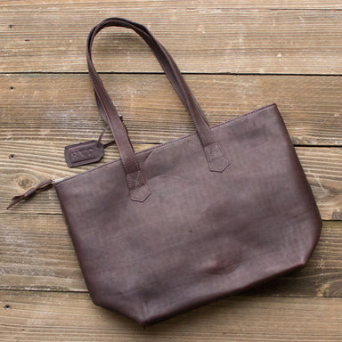 Brown Mosaic Tote No. 3