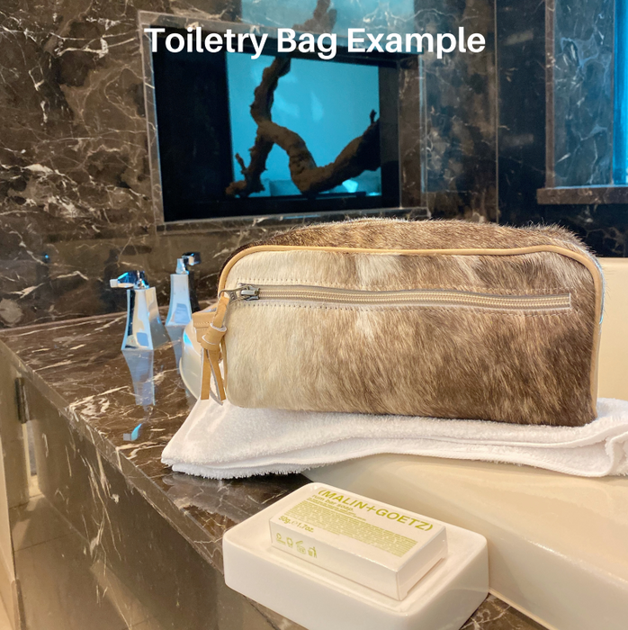 Toiletry Bag No. 19