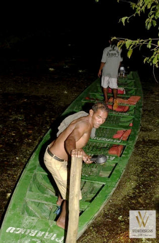 Night Catcher on the Amazon River