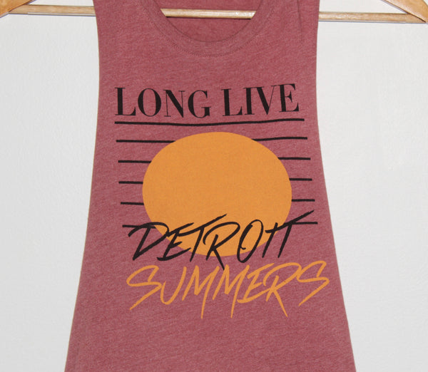 Detroit Summers Crop Tank