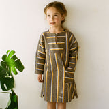 Cotton Vickie Tunic - Yellow - 2-10y