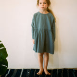 Cotton Una Dress - Sea Glass - 2-10y