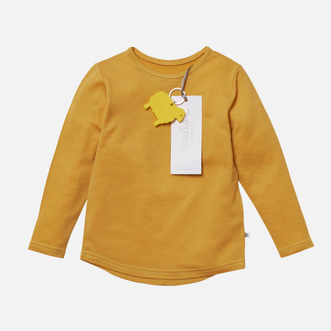 Supersoft Merino LS Top - Mustard - 2-14y