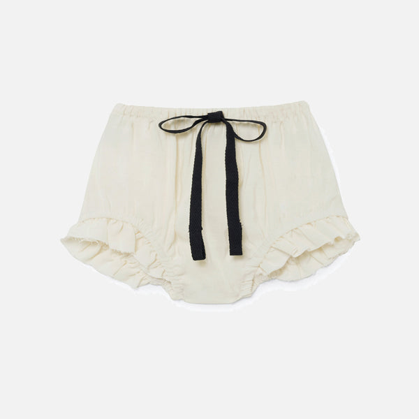 Baby Lucia's Culotte - Ivory - 6-24m