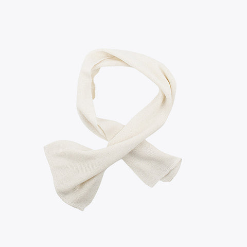 Bourette Silk Scarf - Natural - Toddlers and Small Kids