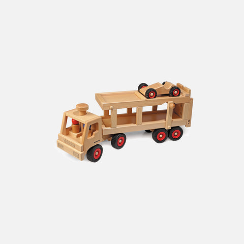 Large Wooden Car Transporter