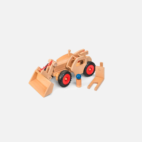 Large Wooden Telescopic Loader