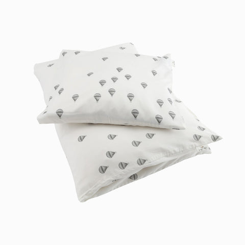 Organic Cotton Duvet & Cushion Cover - Parachute - Junior Size