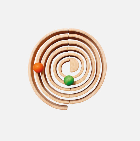 Extra Large 12 Piece Wooden Rainbow - Natural