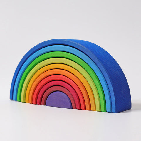 10 Piece Wooden Rainbow Sunset