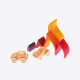 Wooden Fire stacking toy