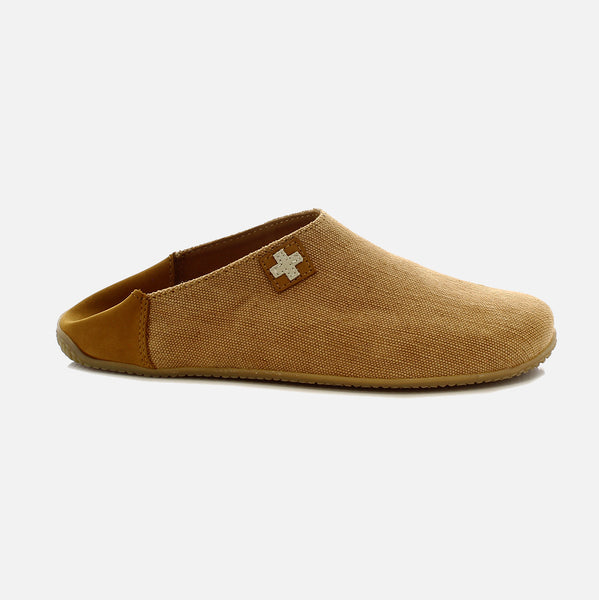 73ba64b858d6 Adult Cotton Canvas Slippers - Sand - 37-42 – MamaOwl