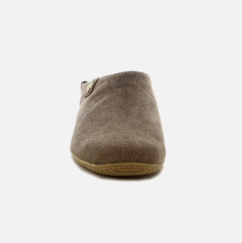 Adult Cotton Canvas Slippers - Acorn - 37-42