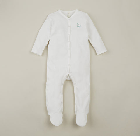 Organic Cotton Footed Sleepsuit 0-9m