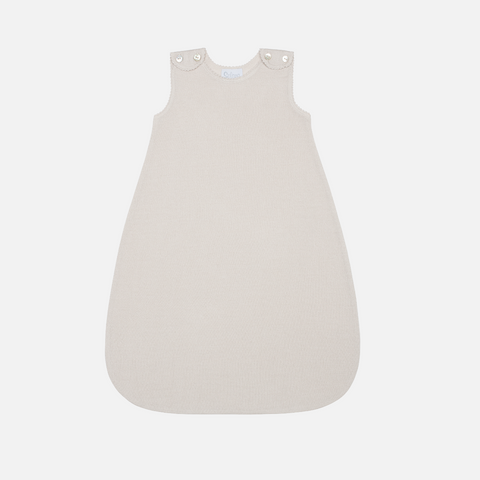Merino/Silk Fine Sleeping Bag - Creme - 3-24m