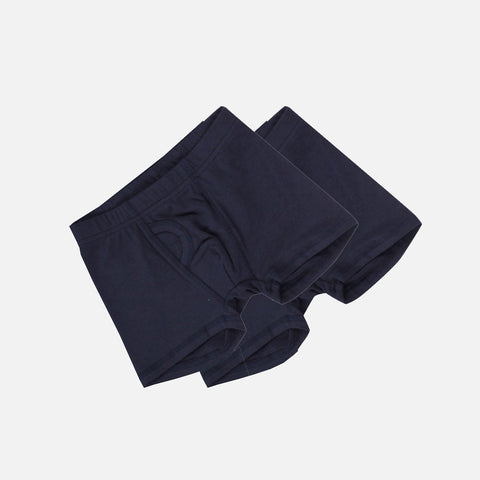 Boys Organic Pants 2 Pack - Navy - 2-7y
