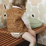 Hand Knit Merino Wool Fisherman Bloomers - Nutmeg - 6m-3y