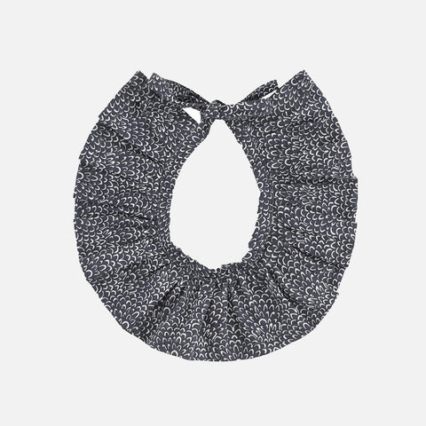 Organic Cotton Collar - Granite Blue