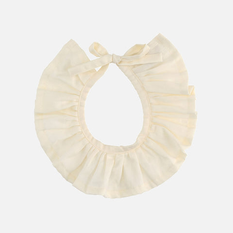 Organic Cotton Collar - Natural - One Size