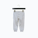 Organic cotton Stripe Trousers - Blue - 5-7y