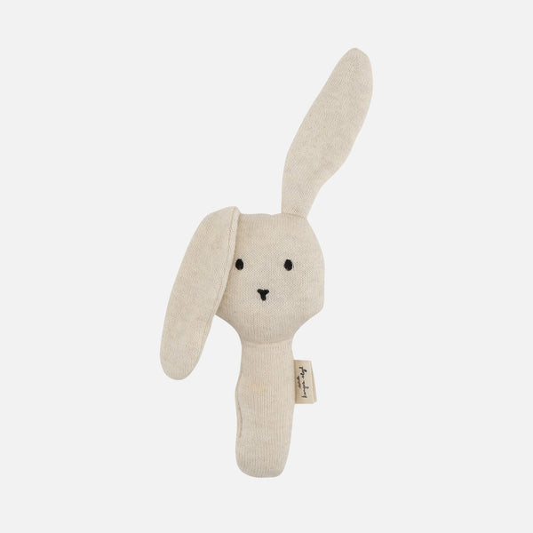 Cotton Activity Hand Rabbit - Off White
