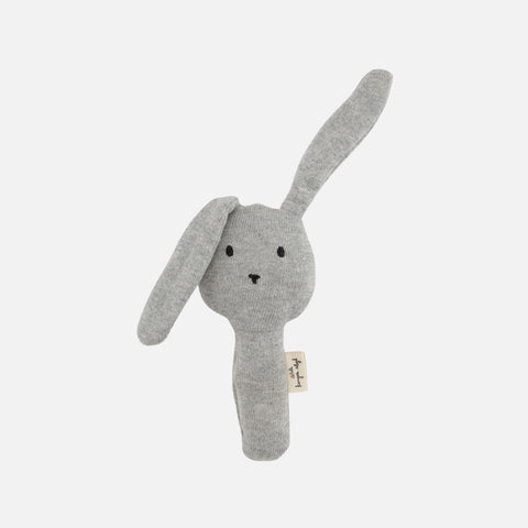 Cotton Activity Hand Rabbit - Grey