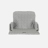Organic Cotton Cushion for High Chair - Sea Shell Storm