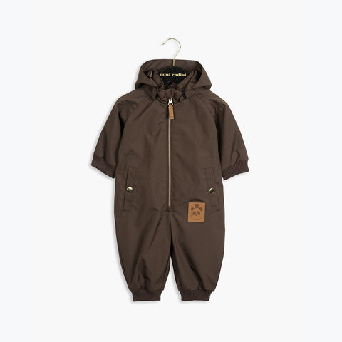 Pico Baby Overall - DK Brown - 0-6m