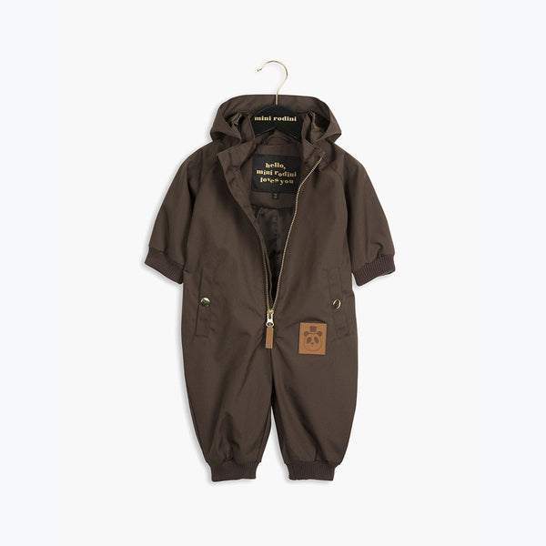 Pico Baby Overall - DK Brown - 0-3y