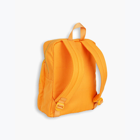 Organic Cotton Panda Backpack - Orange