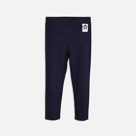 Organic Basic leggings - Navy - 0m-7y